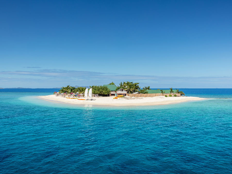 One of the islands in Fiji