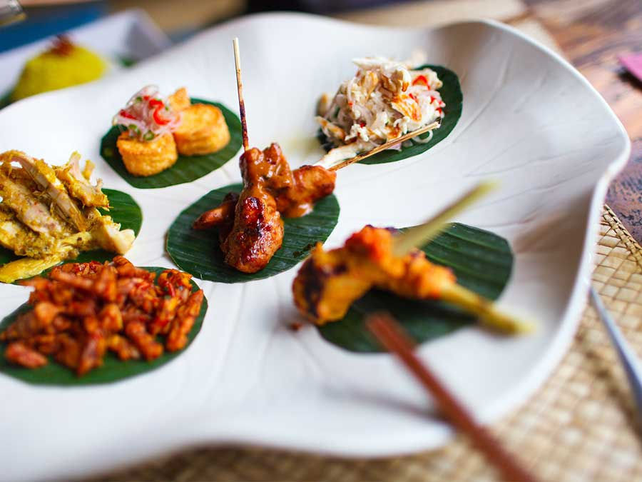 World class flavours in Balinese food