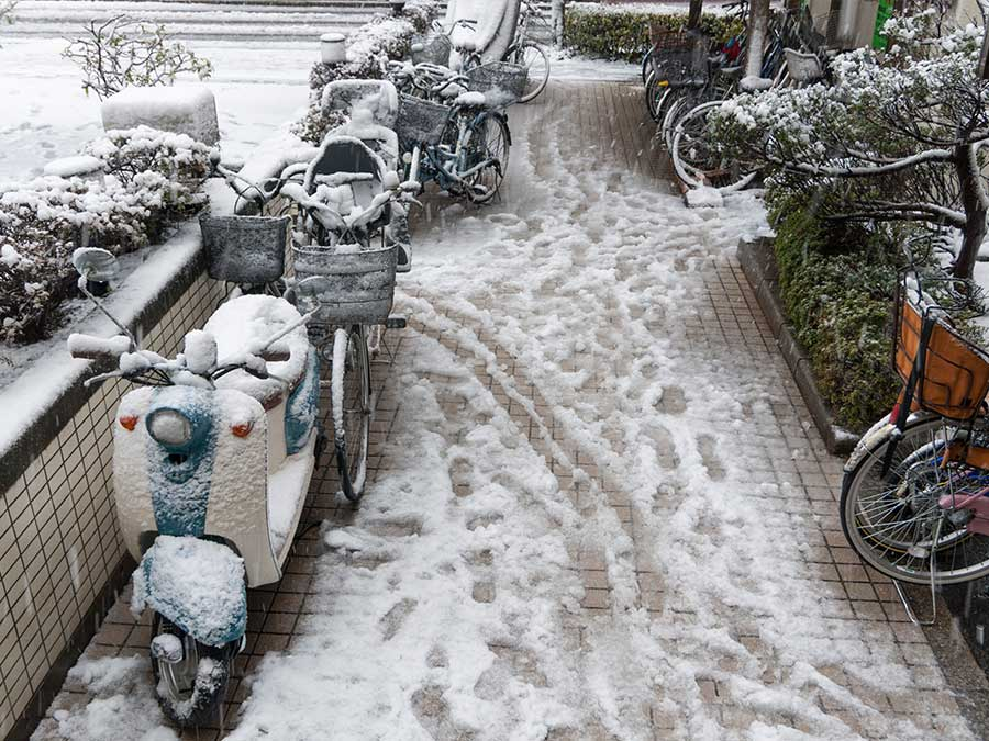 Extreme weather in Japan