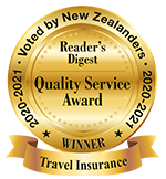 Reader's Digest Quality Service Award